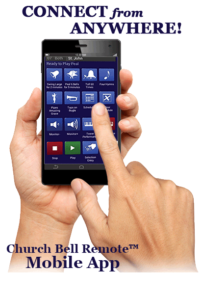 Chimemaster Systems Church Bell Remote (TM) Mobile App