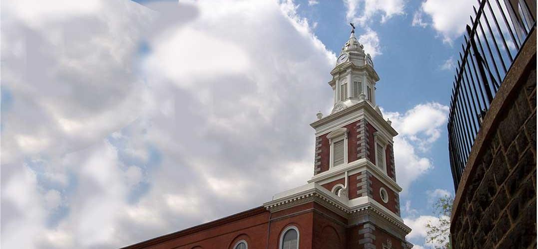 Clock towers and cupolas