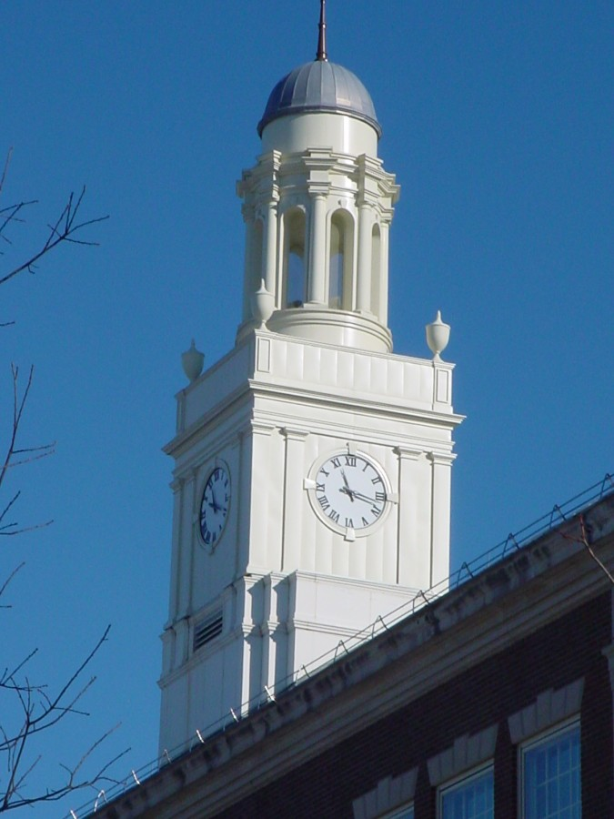 Van Den Berg Clock Tower SUNY New Paltz