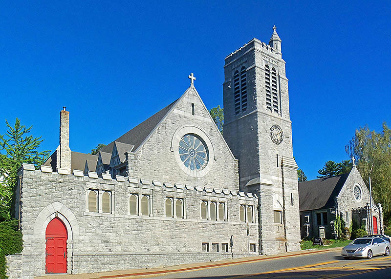 Trinity Episcopal Church - Ossining, New York - Automatic Bell Ringing Installation