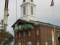 Church Steeple Completion Tompkins Chapel Utica NY