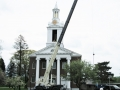 Removal of old Steeple at Tompkins Chapel