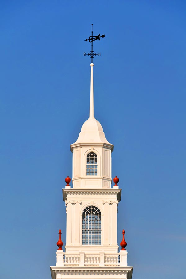 State Capital Building Cupola, Dover, Delaware Vertical With