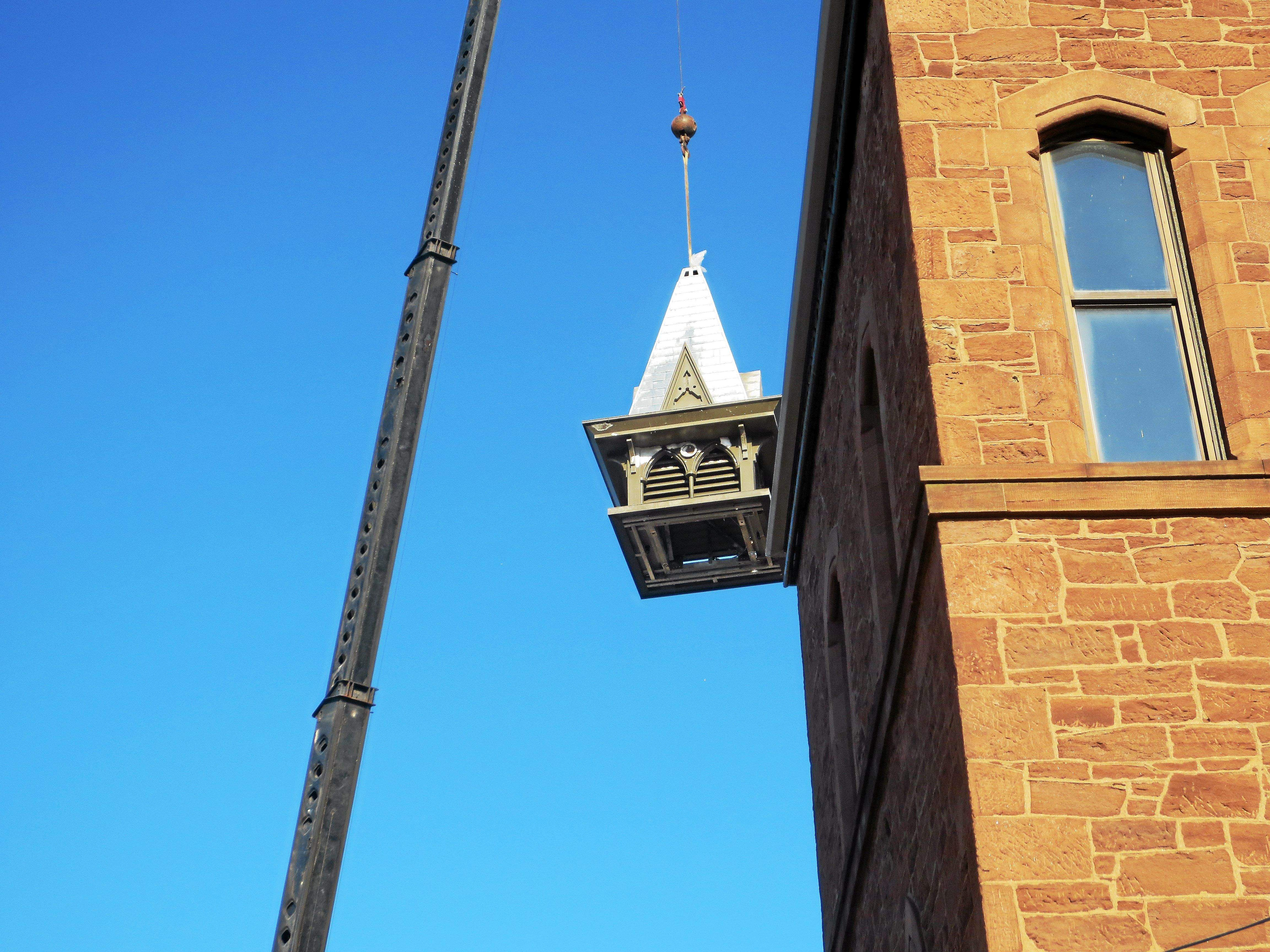 Cupola Replacement at Russell Library