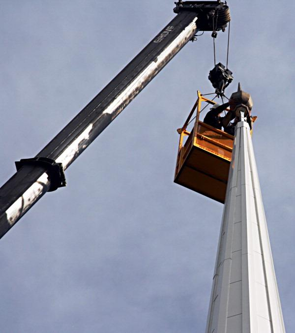 Gift Provides New Church Steeple for Kingston Presbyterian in South Kingston, NJ