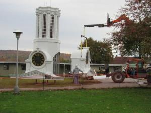 Clock Tower in Steeple