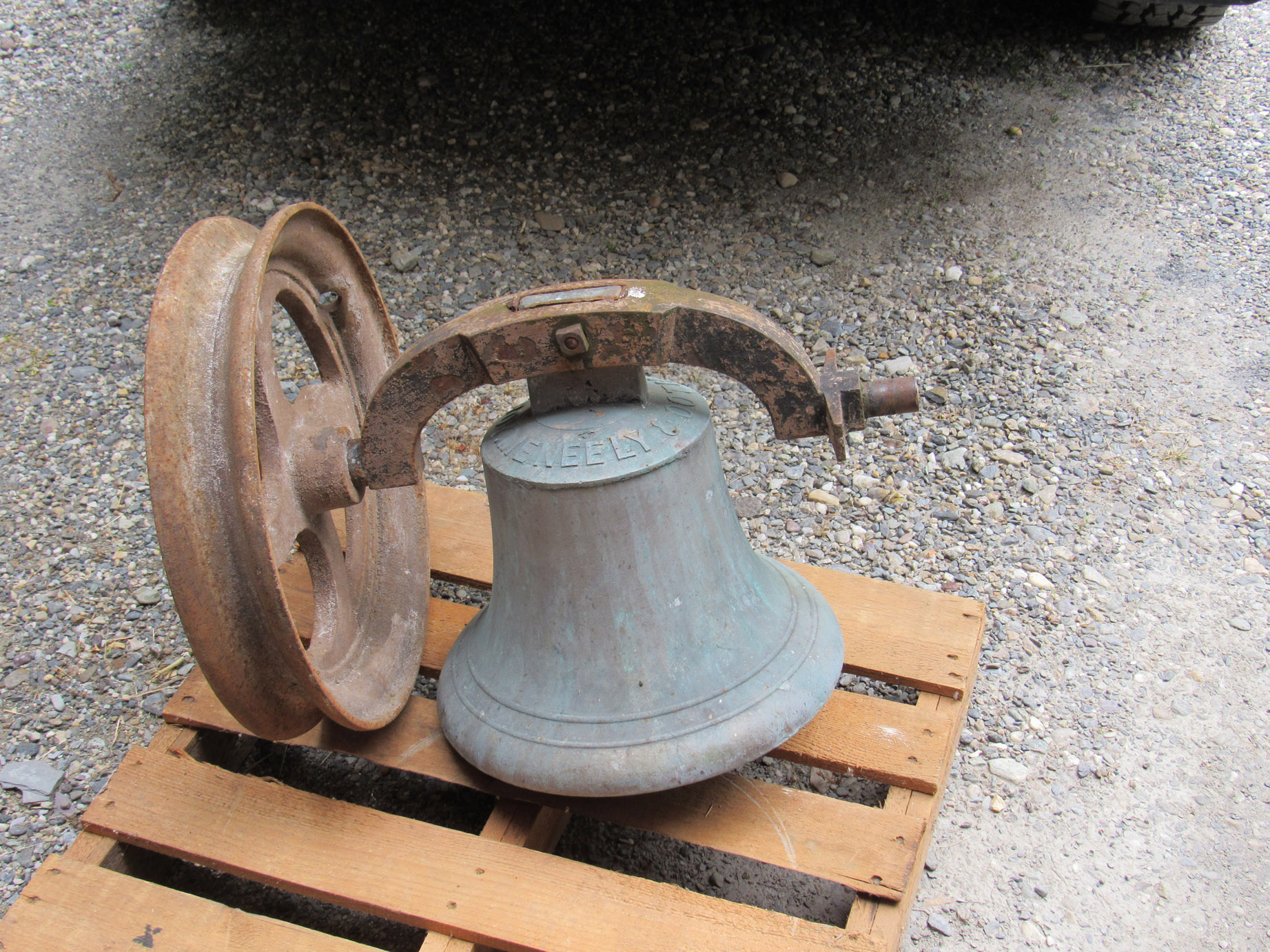 Pre-Owned church bells for sale in restored or original